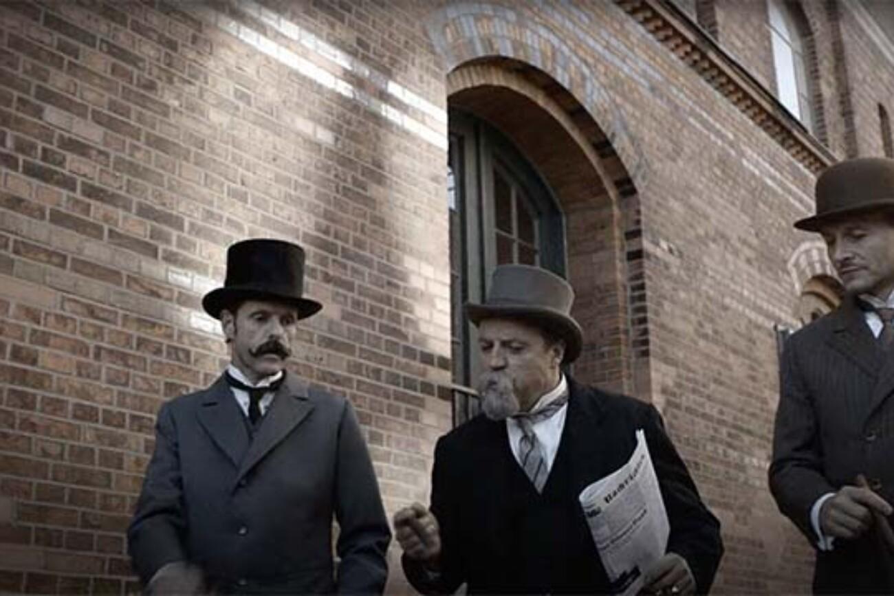 HSVA Imagefilm Jubilaeum 3 Panfilm Panfilm 100 Jahre HSVA Imagefilm Imagefilm